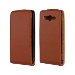 Huawei Ascend G520 - Case - Brown leather