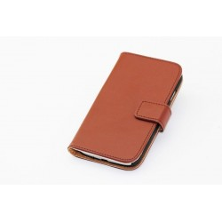 Samsung Galaxy S4 i9500 Case - Brown leather
