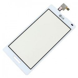 LG Optimus L9 P760 - Dotyková vrstva - Bílé přední sklo + flex