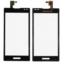 LG Optimus L9 P760 - Black touch layer touch glass touch panel + flex