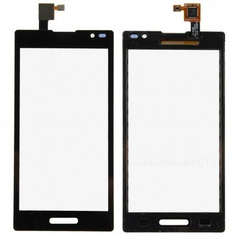 LG Optimus L9 - Dotyková vrstva - Černé přední sklo + flex