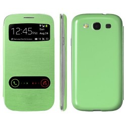 Samsung Galaxy S3 I9300 - green flip S-View