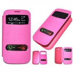 Samsung Galaxy S3 i9300 - Růžový flip S-View