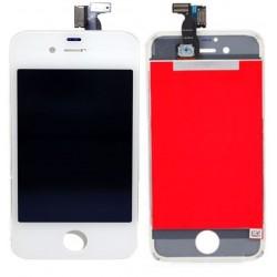 Apple iPhone 4S - Bílý LCD displej + dotyková vrstva, dotykové sklo, dotyková deska
