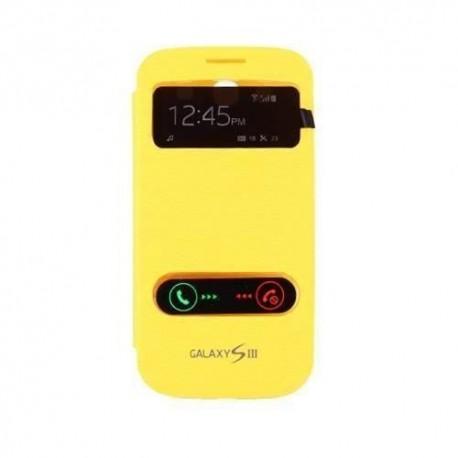 Samsung Galaxy S3 i9300 - Žlutý flip S-View