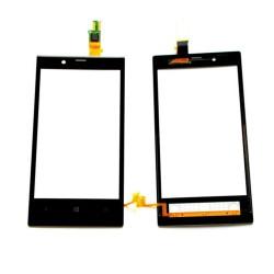 Nokia Lumia 720 - Černá dotyková vrstva, dotykové sklo, dotyková deska + flex - OEM